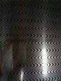Bobina impressa reticolo dell'acciaio inossidabile dello specchio di Suqure per il prezzo decorativo del comitato del portello