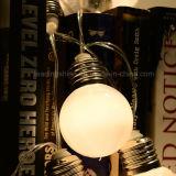 Funciona con pilas mini del adorno del bulbo de la batería Luz de Navidad