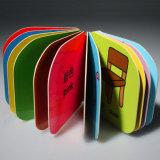 Дети полного цвета учя книгу, книжное производство картонного переплета