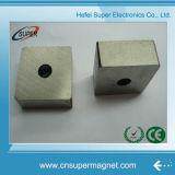 Het permanente Sterke Gesinterde Blok van de Magneet van SmCo van het Kobalt van het Samarium met Gat