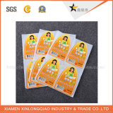Custom Wholesale Size Neck Cloth Garment Woven Sticker Label de impressão