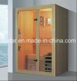 Stanza di sauna di legno solido con il formato personalizzato (AT-8632)