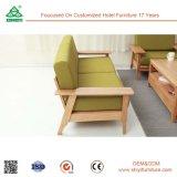 Jeu de sofa de salle de séjour de meubles, sofa classique en bois personnalisé, meubles réglés de sofa en bois