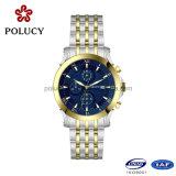 人のための316Lステンレス鋼の水晶クロノグラフの腕時計