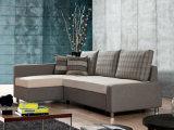 Il sofà a doppio scopo del tessuto ha impostato con memoria