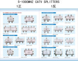 4 diviseur de la voie CATV (SHJ-TS8804)
