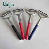 Кухонные принадлежности прочного фрукты инструмент металлического ножа для очистки овощей