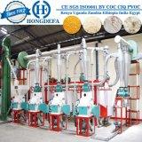 La production de farine de maïs raffinée au Zimbabwe 20t/24h Fraiseuse de maïs