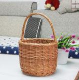 (BC-WF1032) respetuoso del medio ambiente natural hecho a mano del sauce cesta de la flor