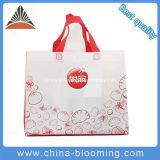 No tejido de polipropileno reciclado promocionales Bolsa de compras
