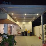 自動防水操作可能なPergolaのルーバー屋根のPergola
