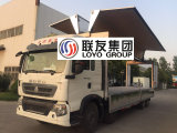 Sinotruk HOWO T5g 8X4 알루미늄 합금 Wingvan 트럭 필리핀
