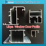 Struttura della finestra del materiale da costruzione di profilo della lega dell'alluminio 6063 della Libia Liberia