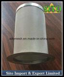 Filtro de acero inoxidable Cilindro de filtración de líquidos