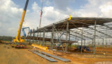 Edificio de la construcción del taller de la estructura de acero del Multi-Palmo