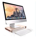 Soporte de aluminio de la computadora portátil con 4 el eje del USB 3.0 de los accesos