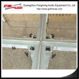 Etapa potable de la aleación de aluminio con el vidrio endurecido