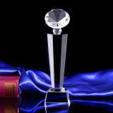 De duidelijke Goedkope Trofee van het Glas van het Kristal voor Herinnering