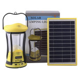 Lampe de main solaire avec FM/MP3