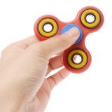 Hilandero rojo de la mano del autismo de la ansiedad del alivio de tensión del juguete de la persona agitada