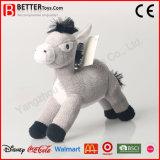 昇進のギフトのプラシ天の柔らかいおもちゃのぬいぐるみの馬