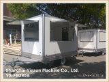 Ys-Fb200b que espanta-se! Camionetes móveis do alimento da loja do reboque do alimento para a venda