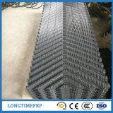 Largeur 300mm 600mm de PVC enclins ondulé Remplissage de la tour de refroidissement
