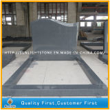 Aurora Pet / Baby Granite Headstone / pierres tombales avec sculpté Rose Design