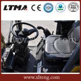 Chinesische Payloader gegliederte Minirad-Ladevorrichtung für Verkauf
