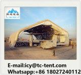 متحمّل [ألومينوم لّوي] إطار طائرة حظيرة خيمة لأنّ عسكريّ [ت&ك] خيمة