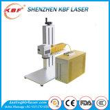 30W Qr 부호 금속 기계설비를 위한 작은 휴대용 금속 섬유 Laser 마커