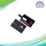 Le lecteur externe USB 2.0 de crayon lecteur de disque de la mémoire 4GB 8GB 16GB U de mémoire de Pendrive de lecteur flash USB par la carte de crédit personnalisé pour le cadeau