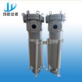 Einzelnes Beutelfilter-Gehäuse/Filter-Behälter-Wasser-Filter