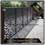 L'extérieur Jardin découpé au laser décoratifs en aluminium avec panneau prix d'usine de clôture