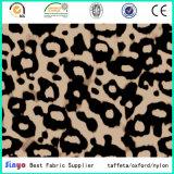 Digitahi sentono la zebra stampata trasferimento progettare il tessuto per il cliente del leopardo per i sacchetti