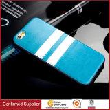 Couverture arrière d'Unbreak de type de cuir de silicones de téléphone de couverture britannique de caisse pour l'iPhone 5/5s 6/6s