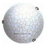 Plafond van de Lamp van het Plafond van het Glas van de Prijs van het aluminium het Goedkope E27 voor Slaapkamer