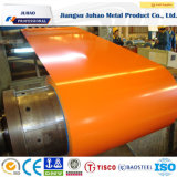 Bobina cubierta color en frío sumergida caliente del acero inoxidable de PPGI