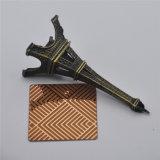 Kwaliteit van het Blad ASTM 304 van het Comité van het Roestvrij staal van het Brons van de Deklaag van de Kleur PVD de Antieke op Verkoop
