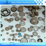 Disco del filtro del acero inoxidable de la armadura llana