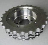 CNC de la precisión que muele a pieza de automóvil trabajada a máquina con el laminado de cromo