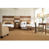 Wilsonart 고압 박판으로 만들어진 현대 호텔 침실 가구 디자인