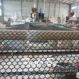 Malha de plástico para o zoneamento de aves de capoeira