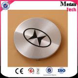Vente en gros Plaque signalétique en acier inoxydable en alliage de zinc avec 3 m Adhésif Sticher