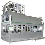 Maquinaria de etiquetado líquida automática de trabajo de la máquina de rellenar de Intelegent