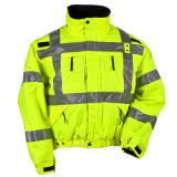 Куртка безопасности высокой ленты видимости дневная отражая