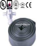 Tuyau d'incendie durable résistant de température élevée de caoutchouc nitrile de 3 pouces