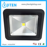 Reflector de la luz de inundación del LED 50W, Ce al aire libre RoHS SAA de los dispositivos ligeros de inundación aprobado