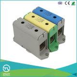 Jut10-50 Connecteur de bloc de terminaison de distribution de rail DIN