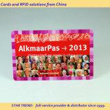 Plastikvereinsmitglied-Zugriffs-Karte mit der Gutschrift in Scheckkartengröße